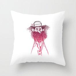 Homeless Throw Pillow