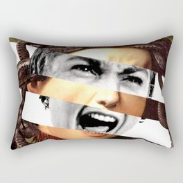 Caravaggio's Medusa & Psycho Rectangular Pillow