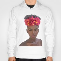goddess Hoodies featuring Goddess by Grace Teaney Art