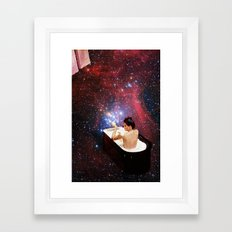 Bubble Bath Framed Art Print