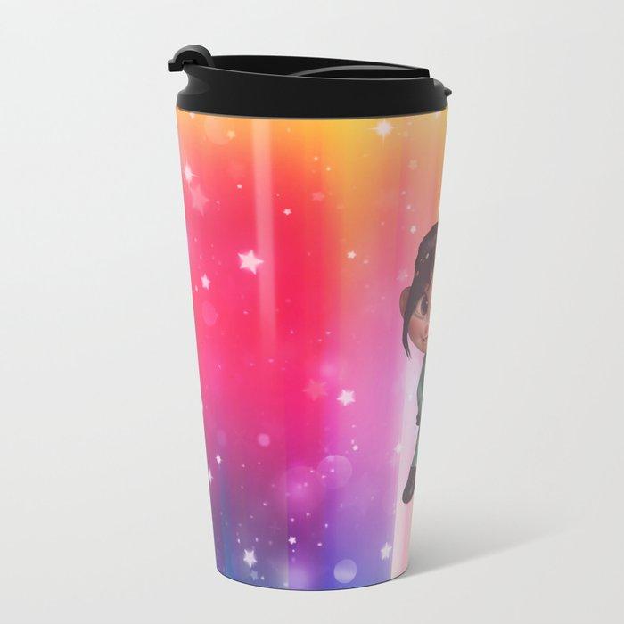 Sugar Rush Metal Travel Mug