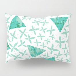 Shapes in Nature : Mint Pillow Sham