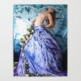 Floral Astral Poster