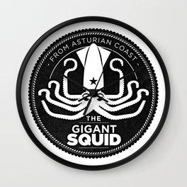Gigant Squid Wall Clock