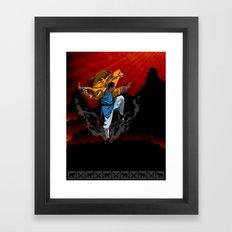Shaolin Kung Fu Framed Art Print