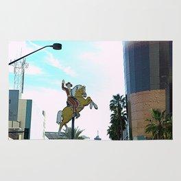 Vegas's street Rug