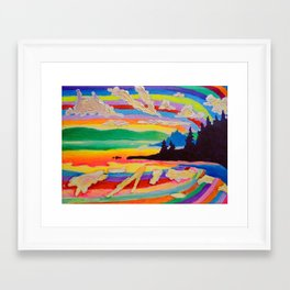 Picnic Point Framed Art Print