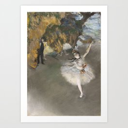 The Star - Edgar Degas Art Print