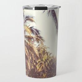 Hawaiian Palms Travel Mug
