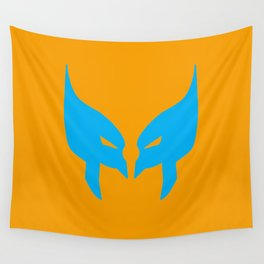Wolverine Mask Wall Tapestry