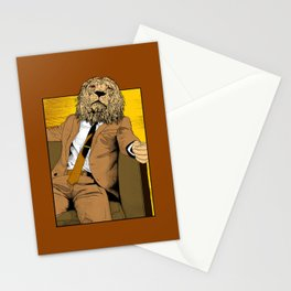 Pride of Lion Stationery Cards