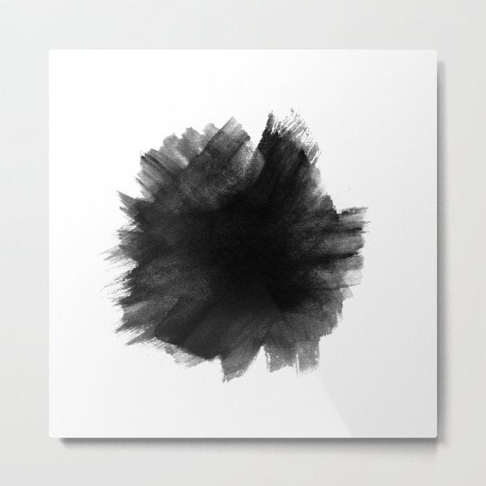 Yin Metal Print