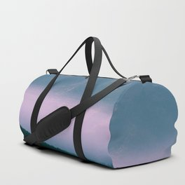 glitch mountains Duffle Bag