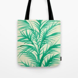 Mint Palms Tote Bag