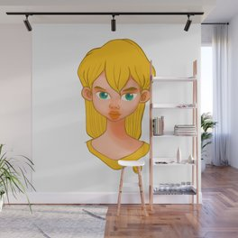jo girl Wall Mural