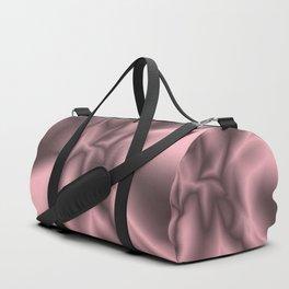 Pink silk Duffle Bag