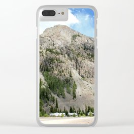 Looking East from the Eureka Gold Mine Clear iPhone Case