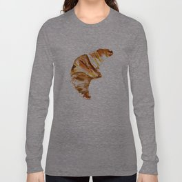 Croissant Long Sleeve T-shirt