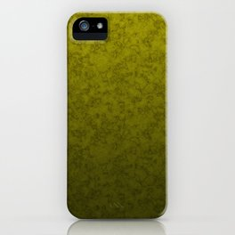 Olive marble iPhone Case