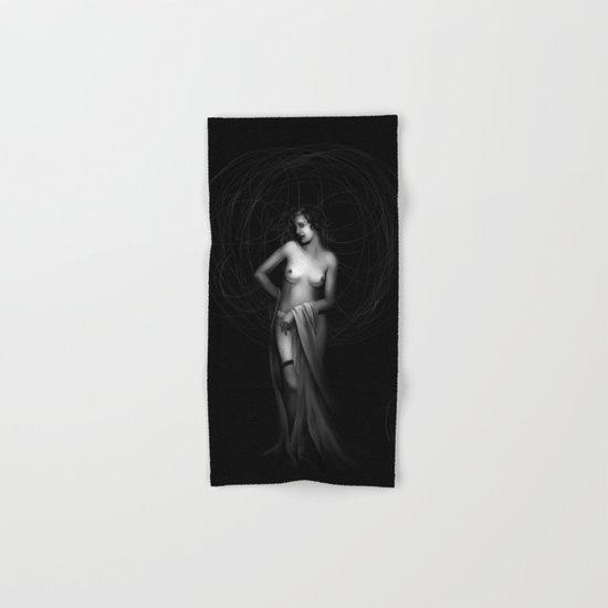 Vintage nude III. Hand & Bath Towel