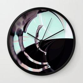 over head-less v7 Wall Clock