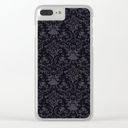 Victorian Gothic Clear iPhone Case