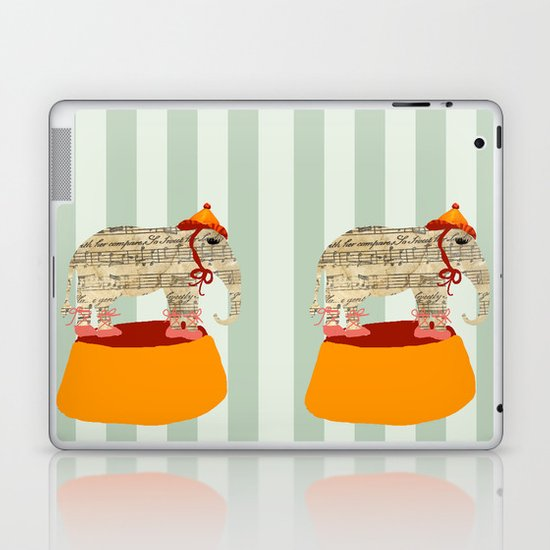 Dancing Elephant Laptop & iPad Skin