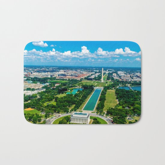 DC from Above Bath Mat