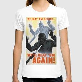 World War Two Propaganda Poster T-shirt