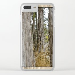 JUNIPERS ON SHAW ISLAND Clear iPhone Case