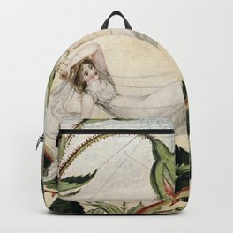 """""""A Fairy Resting in a Hammock"""" by Amelia Jane Murray Backpack"""