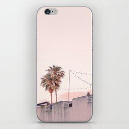 Pink Palms at Sunrise iPhone Skin