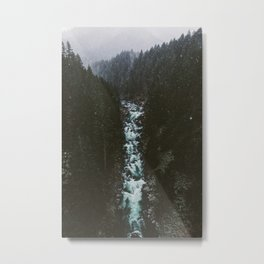 Washington Winter Wonderland Metal Print