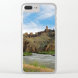 Outside Cody, Wyoming Clear iPhone Case