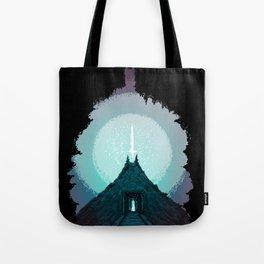 The Power Below Tote Bag