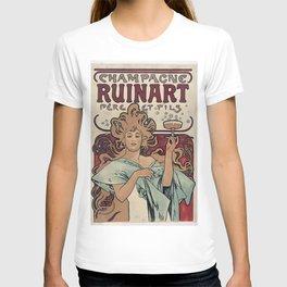 Ruinart Champagne / Alphonse Mucha T-shirt