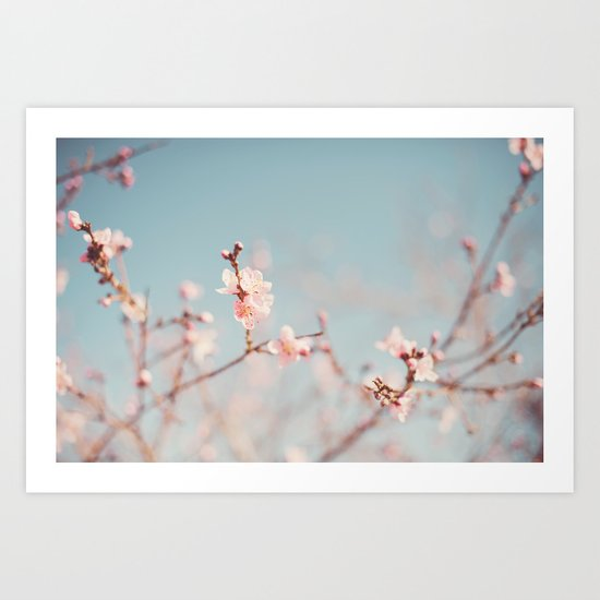 Just blooming. Art Print