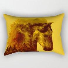 Proud Stallion Rectangular Pillow