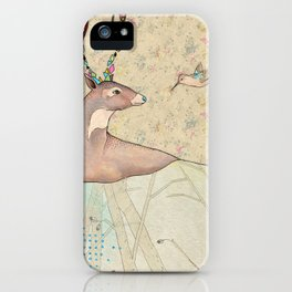 ...tener un bosque dentro. iPhone Case