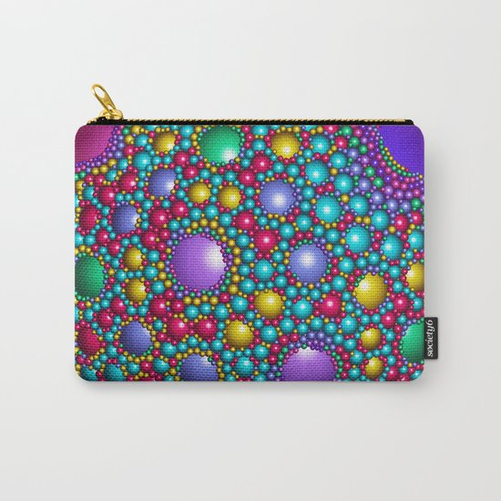 Colored balls Carry-All Pouch