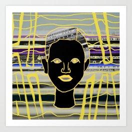Face me Art Print
