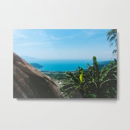 View over the Coast of Central Vietnam Metal Print