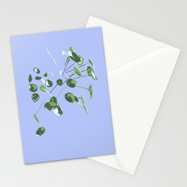 Peperomia Chinese Money Plant Botanical Stationery Cards
