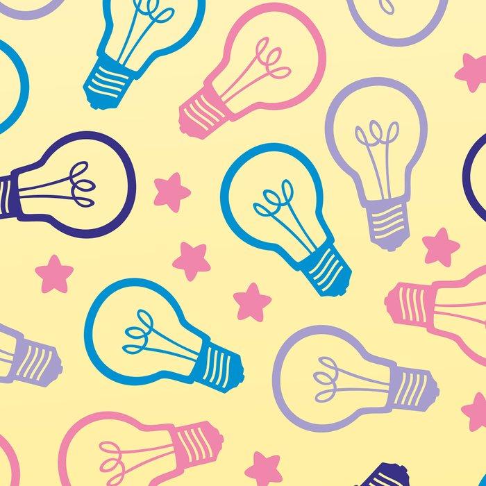 Cute Pastels Light bulb Pattern Leggings