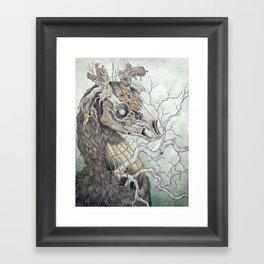 Forgotten Haunts, as a print Framed Art Print