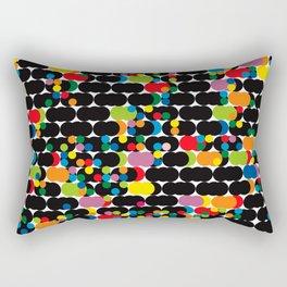 DOTS - polka 1 Rectangular Pillow