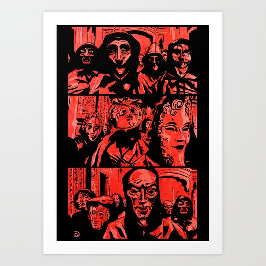 Eyes Wide Shut #1 Art Print