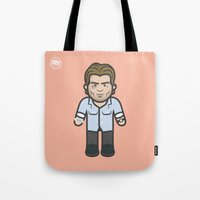 phil jones Tote Bags featuring Phil by Maurice Creative