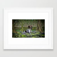 golden retriever Framed Art Prints featuring Retriever  by gypsykissphotography
