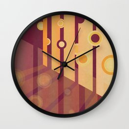 Shining Through II Wall Clock